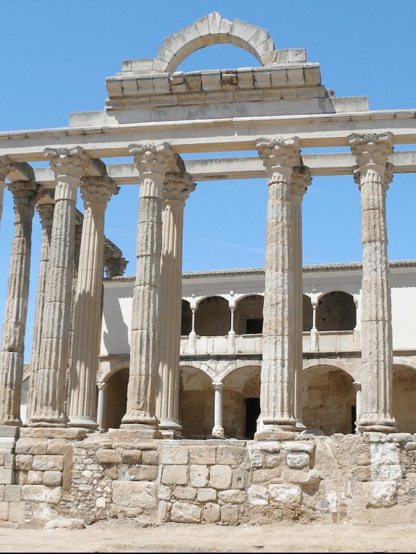 Imagen del Templo de Diana