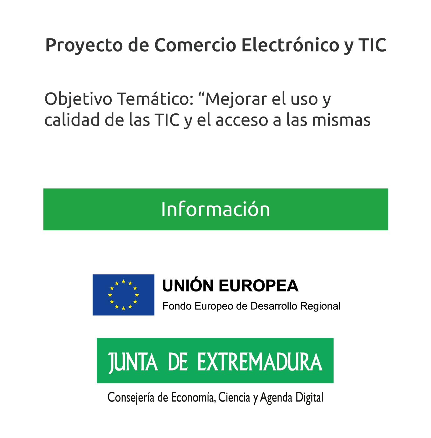 Proyecto de Comercio Electrónico y TIC