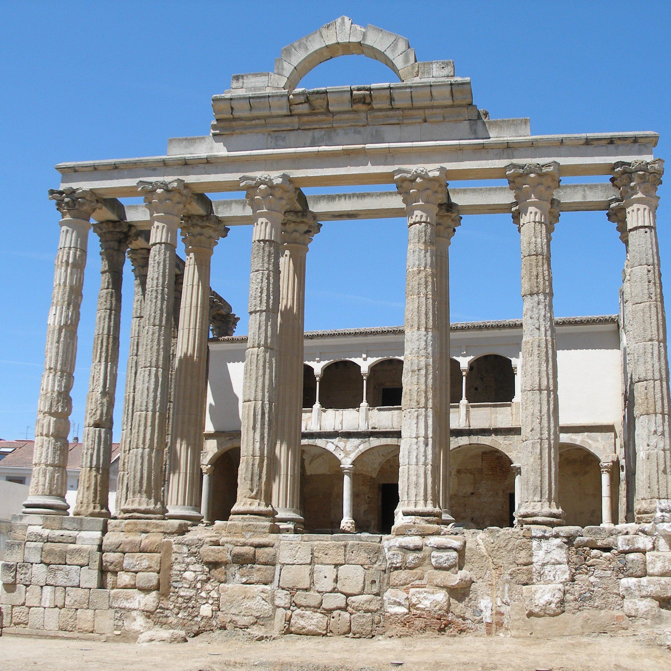Roman Roman Empire Roman Theatre Temple Merida